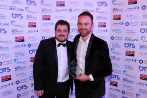 Jamie at Dentistry Scotland Awards 2013 II